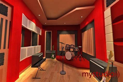 Desain rumah ini merupakan desain renovasi bangunan lama yang sebelumnya digunakan sebagai studio musik. KONTRAKTOR PEREDAM SUARA RUANGAN STUDIO MUSIK BIOSKOP ROOM KARAOKE DLL | My Studio Acoustic Artwork