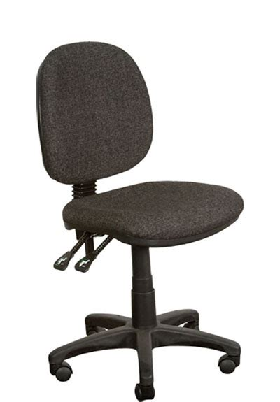 ys design black typist task chair medium back no arms