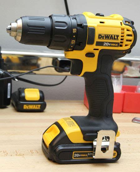 dewalt  compact cordless drill review dcdc