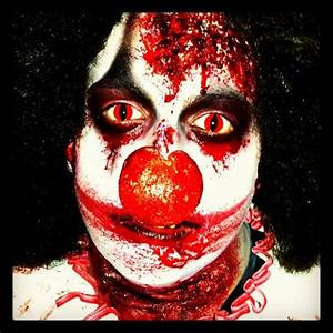 Killer clown | Makeup/Grime | Pinterest | Clowns