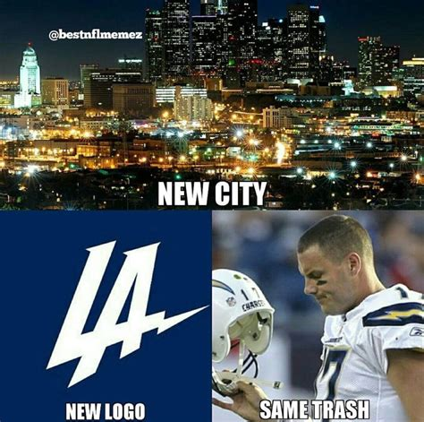 Chargers Memes - chargers move to la memes welcome and have fun
