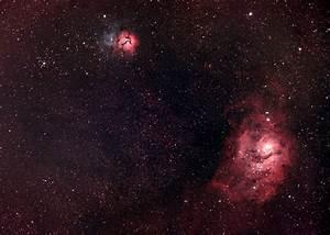 M20 - Trifid Nebula - AstroBackyard | DSLR ...