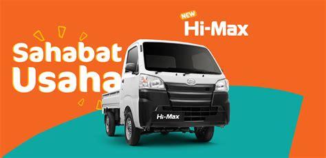 Modifikasi Daihatsu Hi Max by Spesifikasi Dan Harga Daihatsu Hi Max Surabaya Dealer