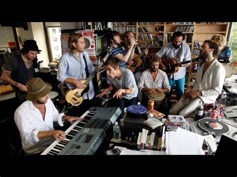 Avett Brothers Tiny Desk Setlist by Edward Sharpe And The Magnetic Zeroes Npr Tiny Desk