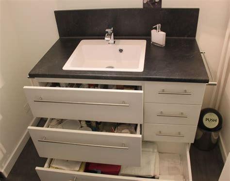 meuble rangement salle de bain petit meuble de salle de bain sur mesure fonctionnel
