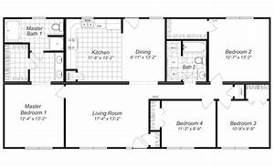 modern 4 bedroom house designs 4 bedroom house plan With simple house plans 4 bedrooms