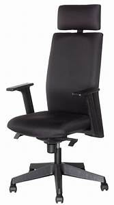 Fauteuil Haut Dossier : fauteuil de bureau haut dossier tissu vezelay ~ Teatrodelosmanantiales.com Idées de Décoration