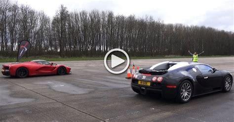 fastest lamborghini vs fastest ferrari ferrari laferari vs bugatti veyron bugatti lost the