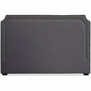 Tissu Pour Tete De Lit : t te de lit 180cm tissu gris milan ~ Preciouscoupons.com Idées de Décoration