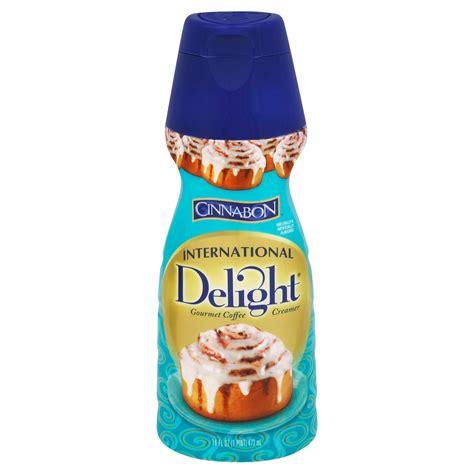 Cinnamon maple coffee creamer & folgers jingle contest. International Delight Cinnabon Liquid Coffee Creamer - Shop Coffee Creamer at H-E-B