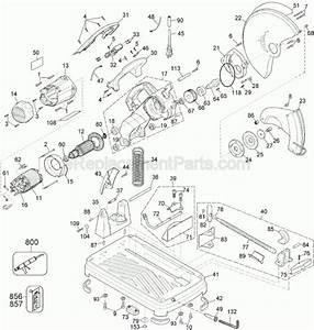 Dewalt Chop Saw Parts Diagram