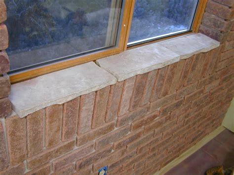 Thin Window Sill by How To Attach Brick Veneer To An Inside Wall How Tos Diy