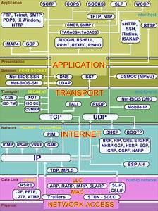 Protocols According To Layers Of Osi And Tcp    Ip Models