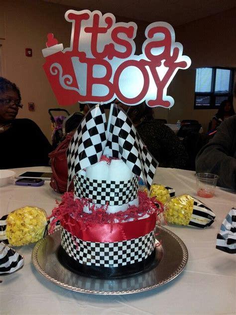 race car centerpieces boy baby shower themes elephant