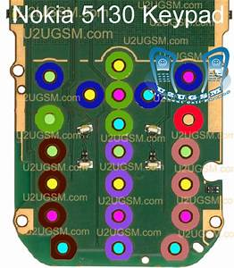 Nokia 5130 Keypad Not Working Problem Solution Jumpers Ways