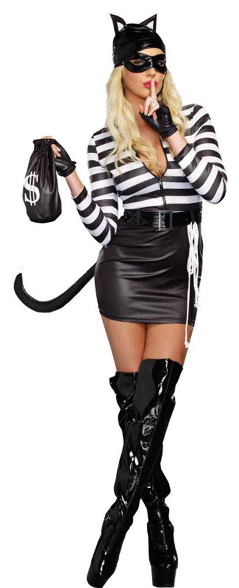 Women's Cat Burglar Costume  Adult Costumes