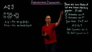 Eigenvektor Berechnen : eigenwerte und eigenvektoren online lernen ~ Themetempest.com Abrechnung