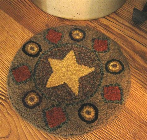 1000 images about rug hooking chair pads on