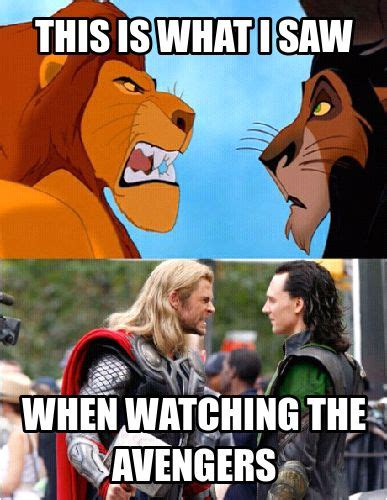 The Lion King Meme - 119 best images about thor on pinterest toms tom hiddleston and avengers memes