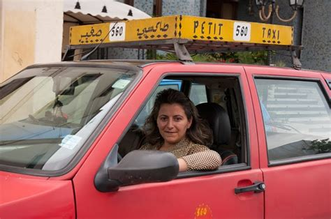 view  fez international womens day   woman taxi driver  fez