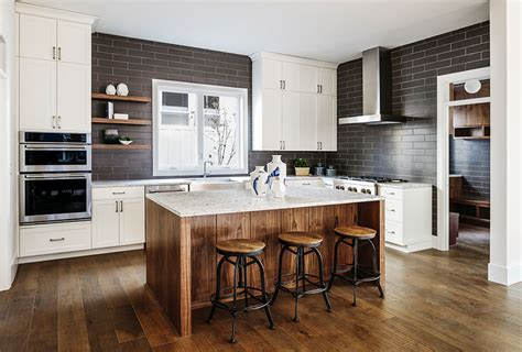kitchens with different colored islands gorgeous contrasting kitchen island ideas pictures