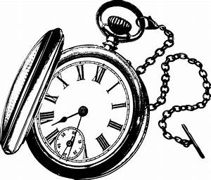 Pocket Watch Clipart - Cliparts Galleries