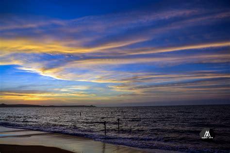 รูปภาพ : ขอบฟ้า, เนื้อน้ำ, สีน้ำเงิน, เมฆ, พระอาทิตย์ตกดิน ...