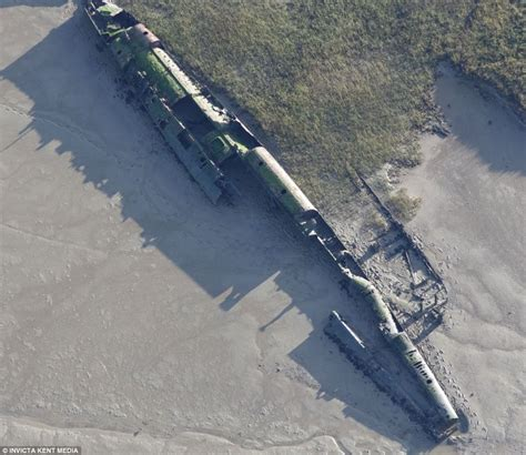 Boat Accident Imperial Beach by German U Boat In British River Emerges After Almost A Century