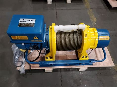 China 1000kg Electric Winch Suppliers and Manufacturers - Cheap Price 1000kg Electric Winch - Allman