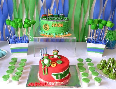 Turtle Decorations Nz by Mutant Turtles Birthday Quot Josh Aron S