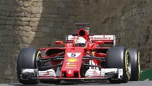 Formel 1 Sebastian Vettel Beim Aserbaidschan GP Klar Vor