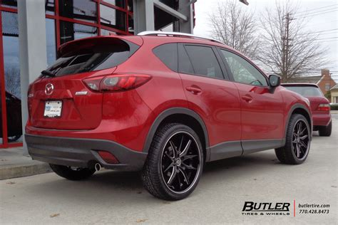 Mazda Cx5 With 22in Lexani R-twelve Wheels Exclusively