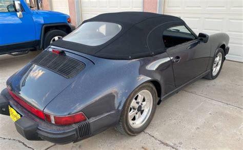 The first safety cabriolet in the world. Speedster Conversion: 1987 Porsche 911 Targa