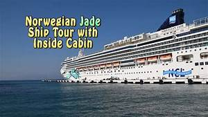 Norwegian Jade Ship Tour With Inside Cabin