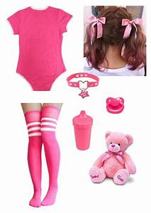 U0026quot;Pink Babygirlu0026quot; by damageddoll on Polyvore featuring Pink kawaii and ddlg | Style | Pinterest