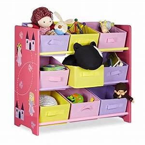 Panier Cube De Rangement : relaxdays meuble de rangement jouets enfant funny motifs pirncesse commode bois 9 paniers cube ~ Teatrodelosmanantiales.com Idées de Décoration