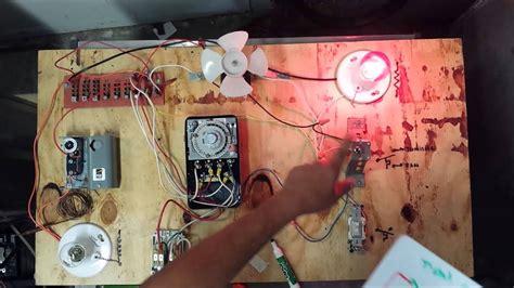 Grasslin Time Clock Wiring Diagram by Freezer Defrost Timer Live Operation