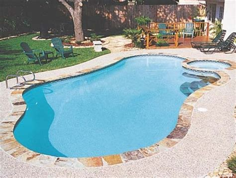 simple pools a simple pool spa design future home pinterest simple design and as
