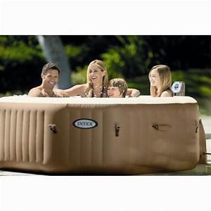 Spa Intex Octogonal 6 Places : spa gonflable bulles intex octogonal 4 places beige spa piscine sauna spa jardin ~ Melissatoandfro.com Idées de Décoration