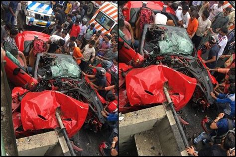 Thoughts on the ferrari crash in kolkata. Driving a Ferrari proves fatal for this Kolkata youngster, his friend - The Financial Express