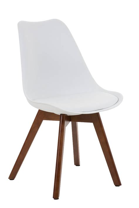chair borneo walnut legs conference dining waiting room
