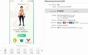 how much money is your pokemon go account worth