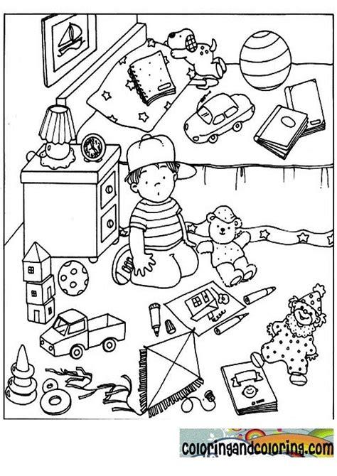 coloriage de chambre de fille chambre enfant dessin des idées novatrices sur la