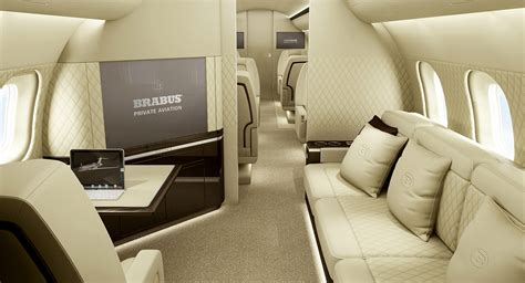 Interior Aircraft Design by Brabus Aviation Offers A Design And Manufacturing