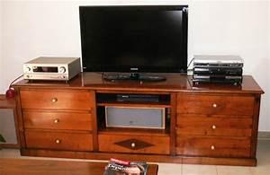 Meuble Tv Hifi : meuble de tv hifi sur mesure meubles hummel ~ Teatrodelosmanantiales.com Idées de Décoration