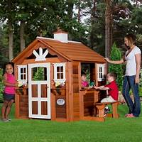 playhouse for kids Adorable Outdoor Wood Cottage Playhouses for Kids!