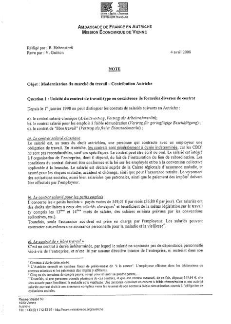 bureau des 騁rangers contrat de travail mannequin mise en demeure 2018