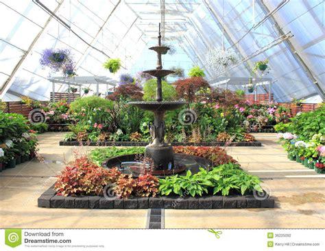 indoor flower garden beautiful indoor water fountain and flowers at indoor garden