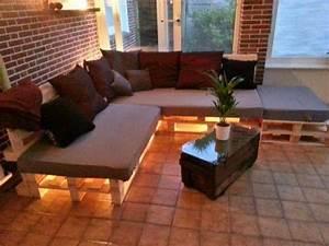 Lounge Aus Europaletten : sof de palete diy passo a passo 37 inspira es lindas ~ Markanthonyermac.com Haus und Dekorationen