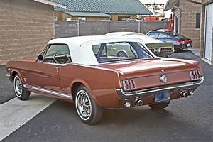 1966 FORD MUSTANG GT CONVERTIBLE - 182108